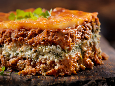 Veggie Burger「Vegetarian Lasagna with Plant Based Protein Meat Substitute and Gluten free Noodles」:スマホ壁紙(10)