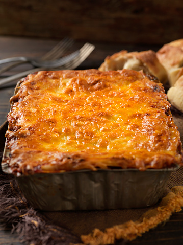 Veggie Burger「Vegetarian Lasagna with Plant Based Protein Meat Substitute and Gluten free Noodles」:スマホ壁紙(4)