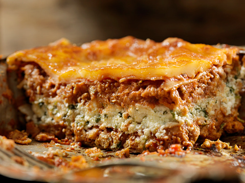 Veggie Burger「Vegetarian Lasagna with Plant Based Protein Meat Substitute and Gluten free Noodles」:スマホ壁紙(11)
