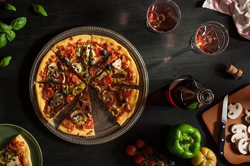 Vegetarian Food「Vegetarian Pizza」:スマホ壁紙(17)