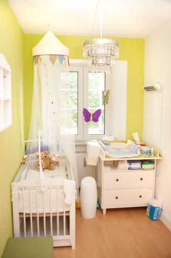 Toddler「nursery small - Kinderzimmer für Mädchen」:スマホ壁紙(6)