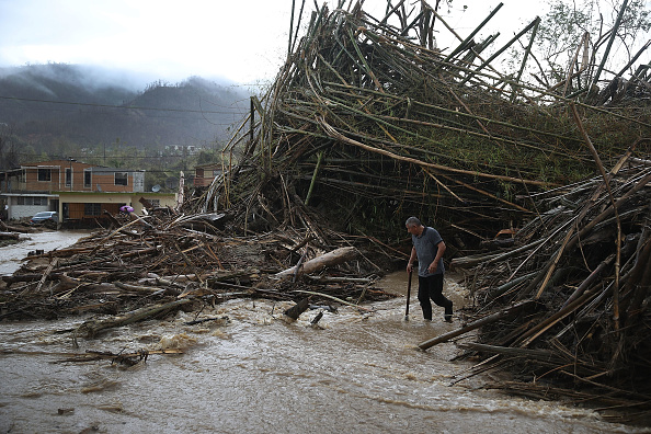 2017 Hurricane Maria「Puerto Rico Faces Extensive Damage After Hurricane Maria」:写真・画像(11)[壁紙.com]