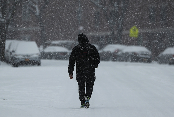 雪「Cold Front Brings Snow To New York Area」:写真・画像(18)[壁紙.com]