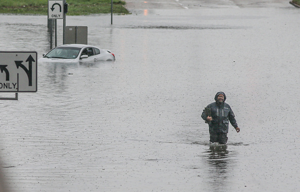 Houston - Texas「Tropical Storm Imelda Brings Heavy Flooding To Houston Area」:写真・画像(4)[壁紙.com]