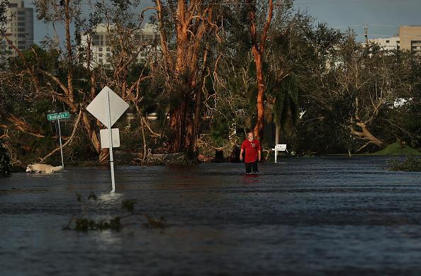 Naples - Florida「Powerful Hurricane Irma Slams Into Florida」:写真・画像(3)[壁紙.com]