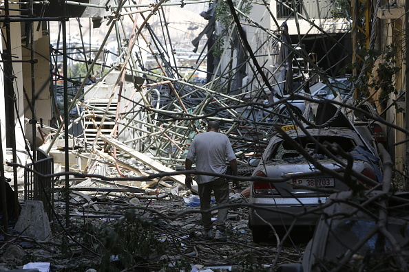 Exploding「Beirut Treats Wounded And Seeks Answers After Deadly Blast」:写真・画像(15)[壁紙.com]