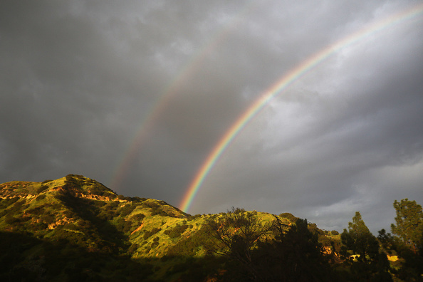Double Rainbow「California Drought Free For the First Time In Eight Years」:写真・画像(19)[壁紙.com]