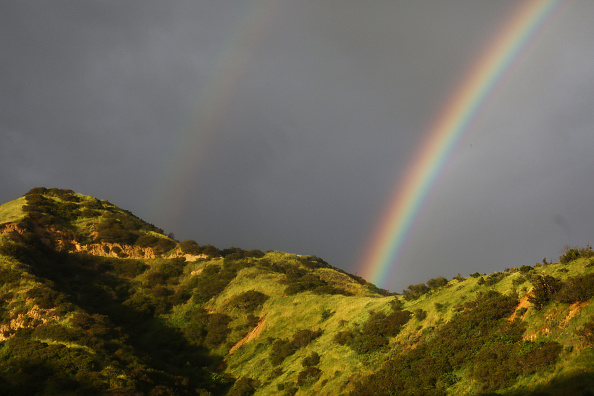 Double Rainbow「California Drought Free For the First Time In Eight Years」:写真・画像(17)[壁紙.com]