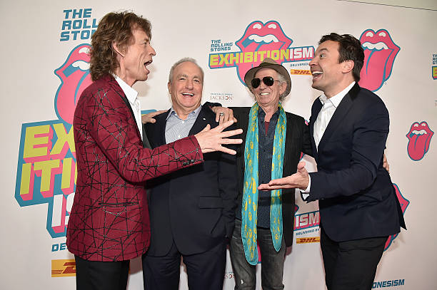 The Rolling Stones celebrate the North American debut of Exhibitionism at Industria in the West Village - Arrivals:ニュース(壁紙.com)