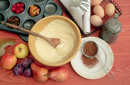 Plum「Fruit, Cake Batter, and Ingredients」:スマホ壁紙(18)