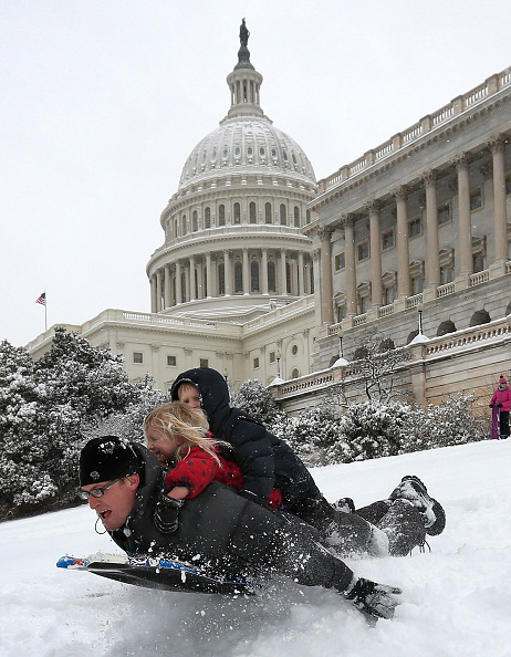 Outdoors「Washington DC Area Hit With Mid-March Snow」:写真・画像(1)[壁紙.com]