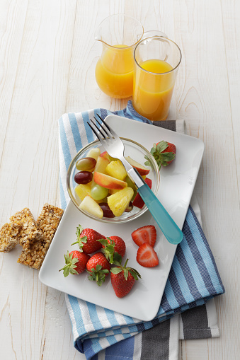 Buffet「Breakfast: Fruit Salad and Orange Juice Still Life」:スマホ壁紙(19)
