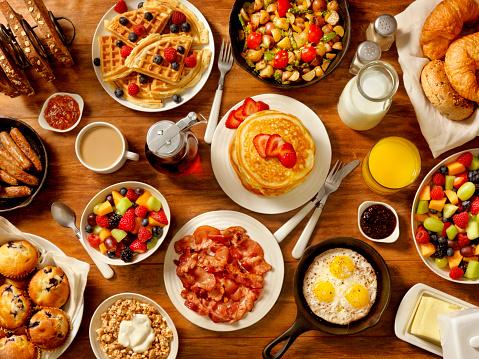 Food and Drink「Breakfast Feast」:スマホ壁紙(2)