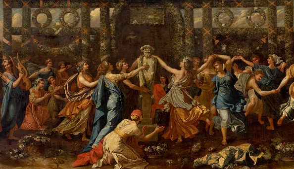 Baroque Style「Hymenaios Disguised As A Woman During An Offering To Priapus」:写真・画像(17)[壁紙.com]