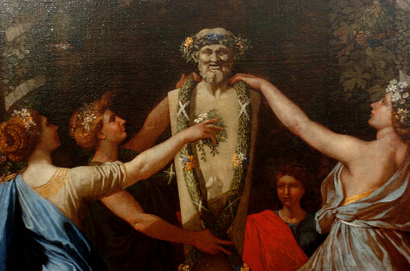 Chicken Meat「Hymenaios Disguised As A Woman During An Offering To Priapus Detail」:写真・画像(1)[壁紙.com]