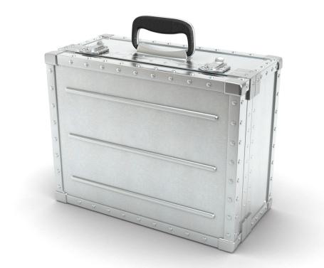 Electronic Organizer「Metal suitcase」:スマホ壁紙(11)