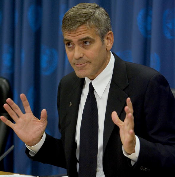 United Nations Building「George Clooney Holds A Press Conference At The United Nations」:写真・画像(14)[壁紙.com]