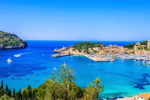 Bay of Water「Port De Soller (Mallorca)」:スマホ壁紙(13)