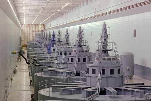 Oregon - US State「Turbines, turbine room generating electricity.」:スマホ壁紙(5)