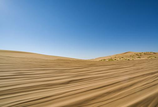 アウバリ砂海「Desert,Inner Mongolia,China」:スマホ壁紙(8)