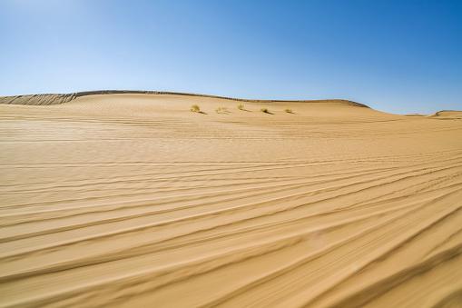 アウバリ砂海「Desert,Inner Mongolia,China」:スマホ壁紙(13)