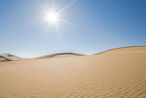 アウバリ砂海「Desert,Inner Mongolia,China」:スマホ壁紙(4)