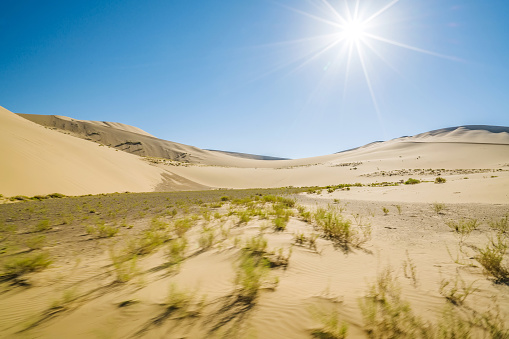アウバリ砂海「Desert,Inner Mongolia,China」:スマホ壁紙(11)