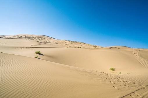 アウバリ砂海「Desert,Inner Mongolia,China」:スマホ壁紙(16)