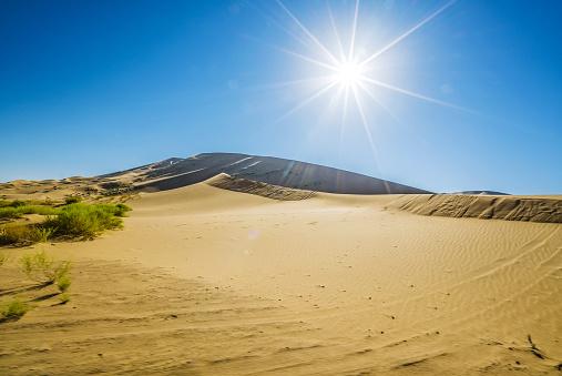 アウバリ砂海「Desert,Inner Mongolia,China」:スマホ壁紙(5)