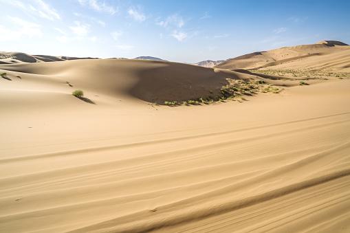Awbari Sand Sea「Desert,Inner Mongolia,China」:スマホ壁紙(13)