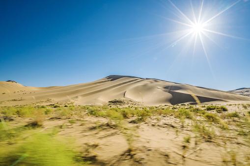 Awbari Sand Sea「Desert,Inner Mongolia,China」:スマホ壁紙(7)