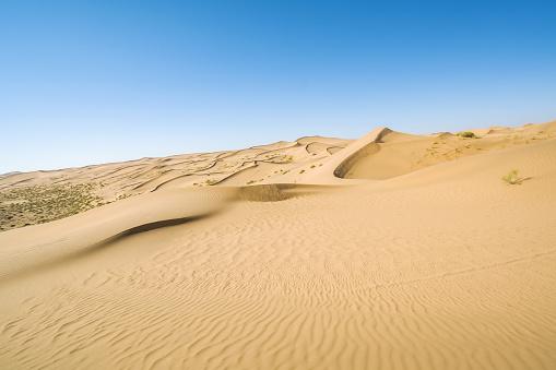 アウバリ砂海「Desert,Inner Mongolia,China」:スマホ壁紙(19)