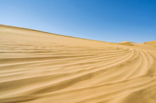 アウバリ砂海「Desert,Inner Mongolia,China」:スマホ壁紙(10)