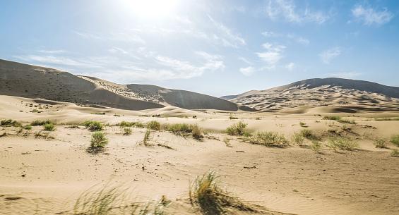 アウバリ砂海「Desert,Inner Mongolia,China」:スマホ壁紙(15)
