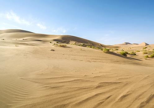 アウバリ砂海「Desert,Inner Mongolia,China」:スマホ壁紙(17)