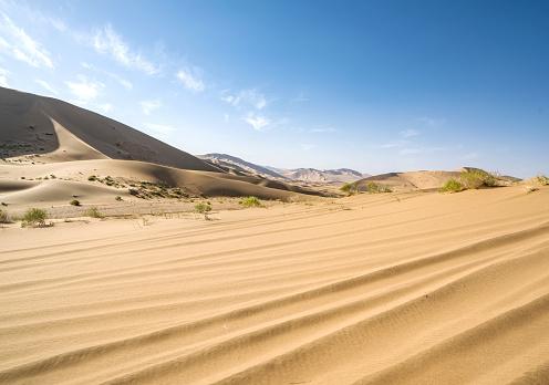 アウバリ砂海「Desert,Inner Mongolia,China」:スマホ壁紙(6)