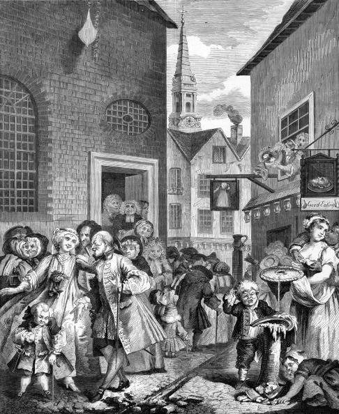 William Hogarth「Times of the Day - Noon by William Hogarth」:写真・画像(8)[壁紙.com]