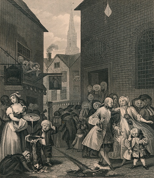 William Hogarth「Times of the Day - Noon」:写真・画像(15)[壁紙.com]