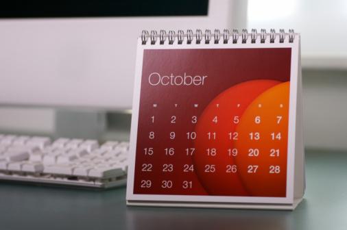 Weekend Activities「October...」:スマホ壁紙(2)
