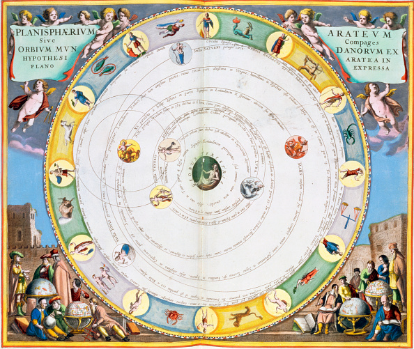Orbiting「Chart Describing The Movement Of The Planets 1660-1661」:写真・画像(15)[壁紙.com]