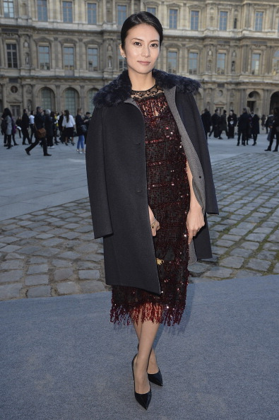 柴咲 コウ「Louis Vuitton : Outside Arrivals - Paris Fashion Week Womenswear Fall/Winter 2014-2015」:写真・画像(4)[壁紙.com]