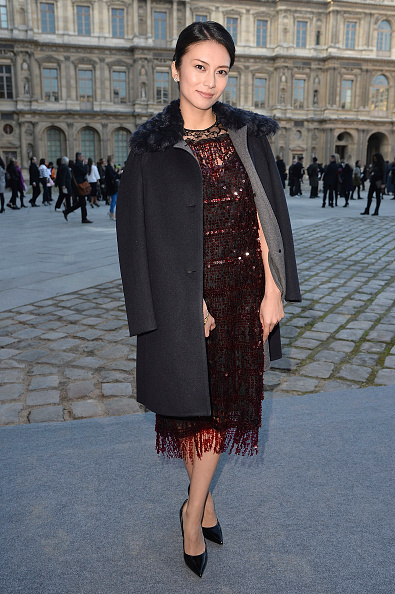 柴咲 コウ「Louis Vuitton : Outside Arrivals - Paris Fashion Week Womenswear Fall/Winter 2014-2015」:写真・画像(0)[壁紙.com]