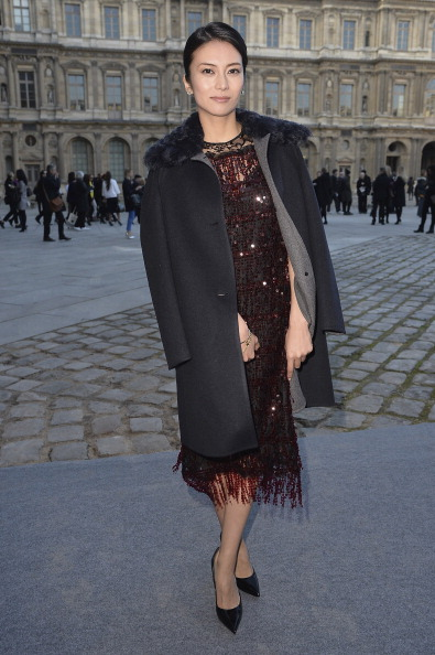 柴咲 コウ「Louis Vuitton : Outside Arrivals - Paris Fashion Week Womenswear Fall/Winter 2014-2015」:写真・画像(5)[壁紙.com]