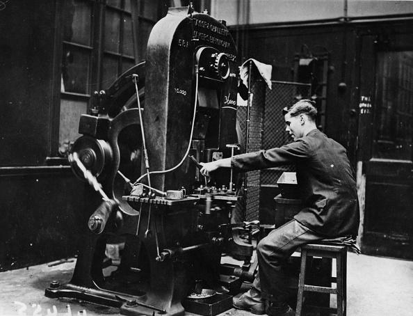 Royal Mint「Stamping Machine」:写真・画像(15)[壁紙.com]