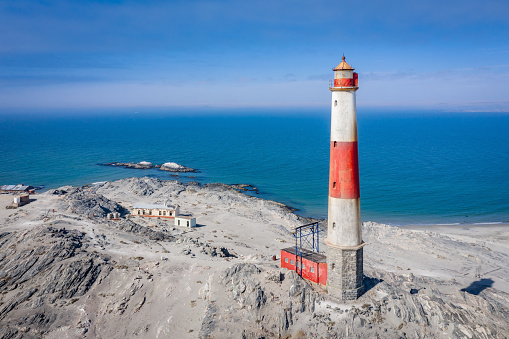 Namibia「Diaz Point Lighthouse Aerial View Lüderitz Namibia Luderitz」:スマホ壁紙(6)