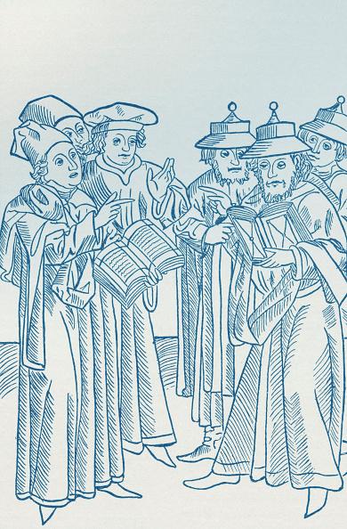 Skull Cap「Religious Disputation between Jews and Christians」:写真・画像(9)[壁紙.com]