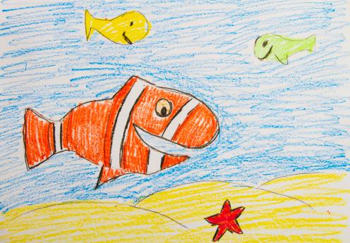 子供時代「Fish」:スマホ壁紙(16)