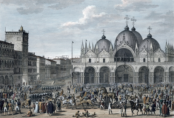 Venice - Italy「The Entry Of The French Into Venice Floreal Year 5 (May 1797)」:写真・画像(13)[壁紙.com]