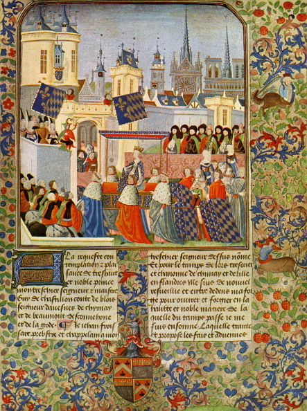 Circa 14th Century「The entry of Queen Isabel into Paris」:写真・画像(13)[壁紙.com]