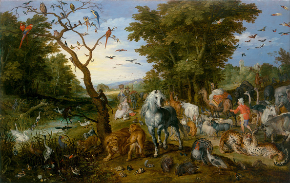 Animal「The Entry Of The Animals Into Noah's Ark 1613」:写真・画像(13)[壁紙.com]